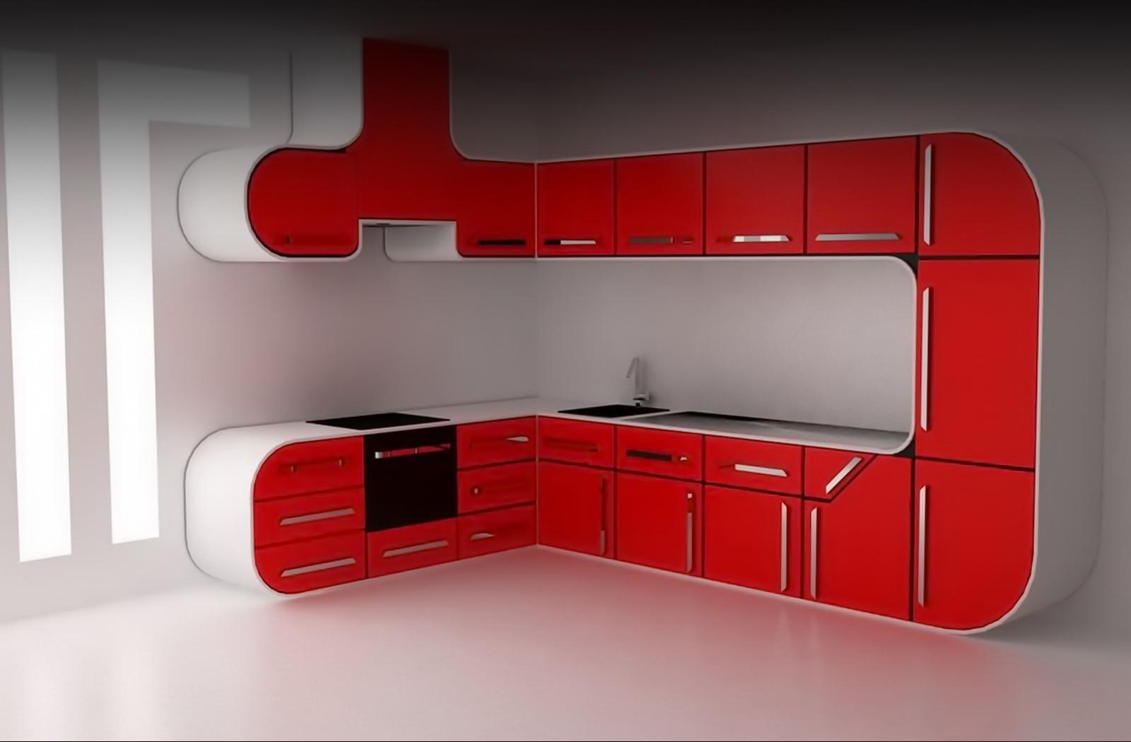 Белая кухня в современном стиле 2 фото